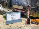 Geezer sign Model Railroad