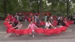 Dancing grannies of China